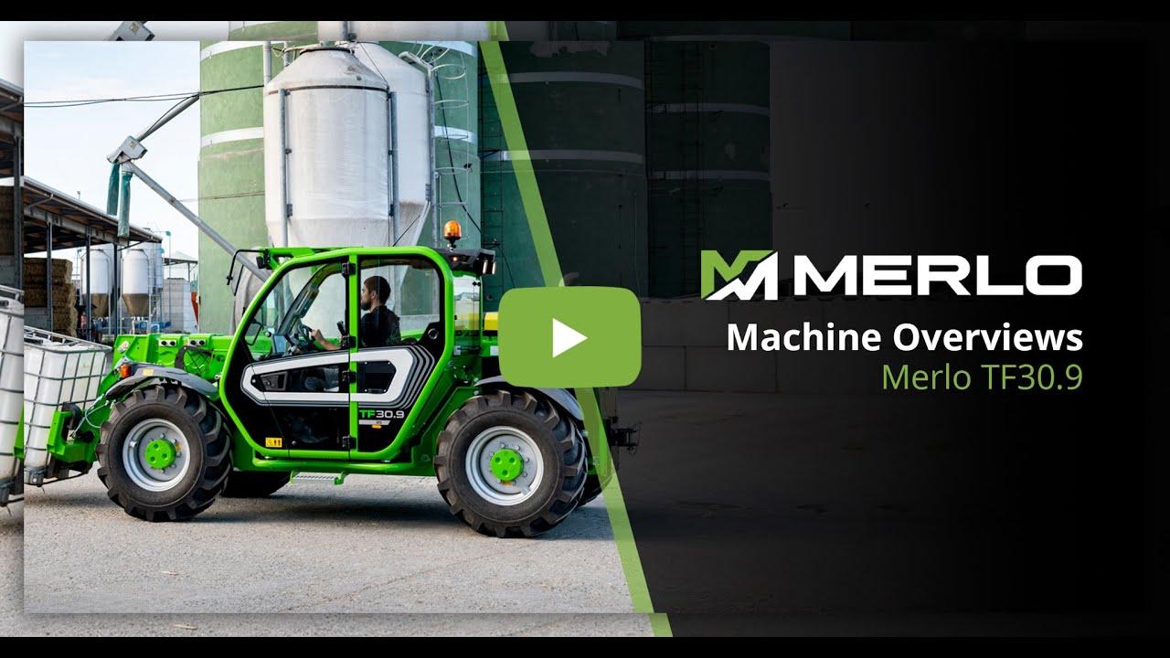 Merlo TF30.9 - Powerful Compact Telehandler