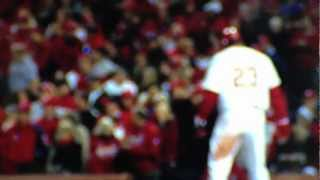 2011 World Series Game 6-One Strike Away