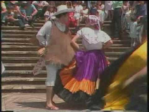 Costa Rican Music & Folk Dance - YouTube
