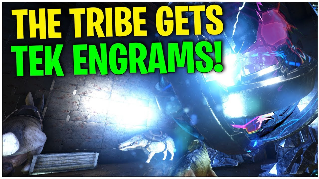 Getting Tek Engram And Boss Fight Official Small Tribe Pvp Ark Survival Evolved Ep27