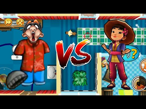 Paradiso Costume vs Liu Guilin Surfer - Robbery Bob 2 vs Subway Surfers