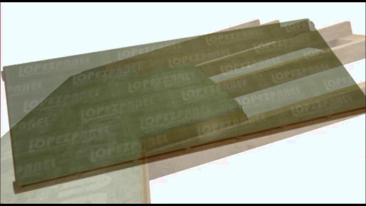 Colocaci n montaje e instalaci n de panel sandwich de for Montaje tejados de madera