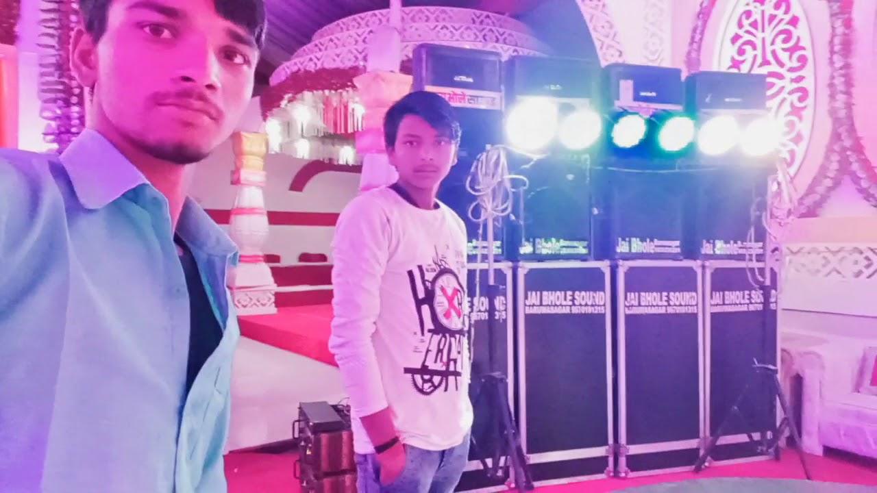 Cooler kurti Mein Laga Le Dj Ikka MauranipurManoj bhai DJ Jai Bhole  Baruasagar