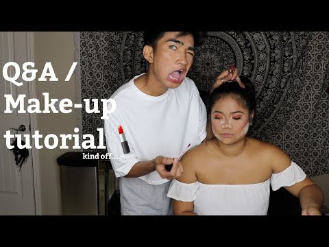 Thumbnail: Doing my Sisters Makeup / Q and A