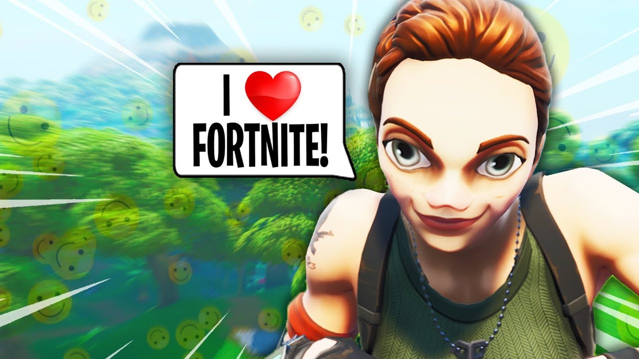 The Nicest Default In Fortnite Youtube