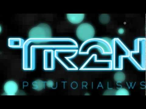 Photoshop Tutorial: Tron-Inspired 3D Text