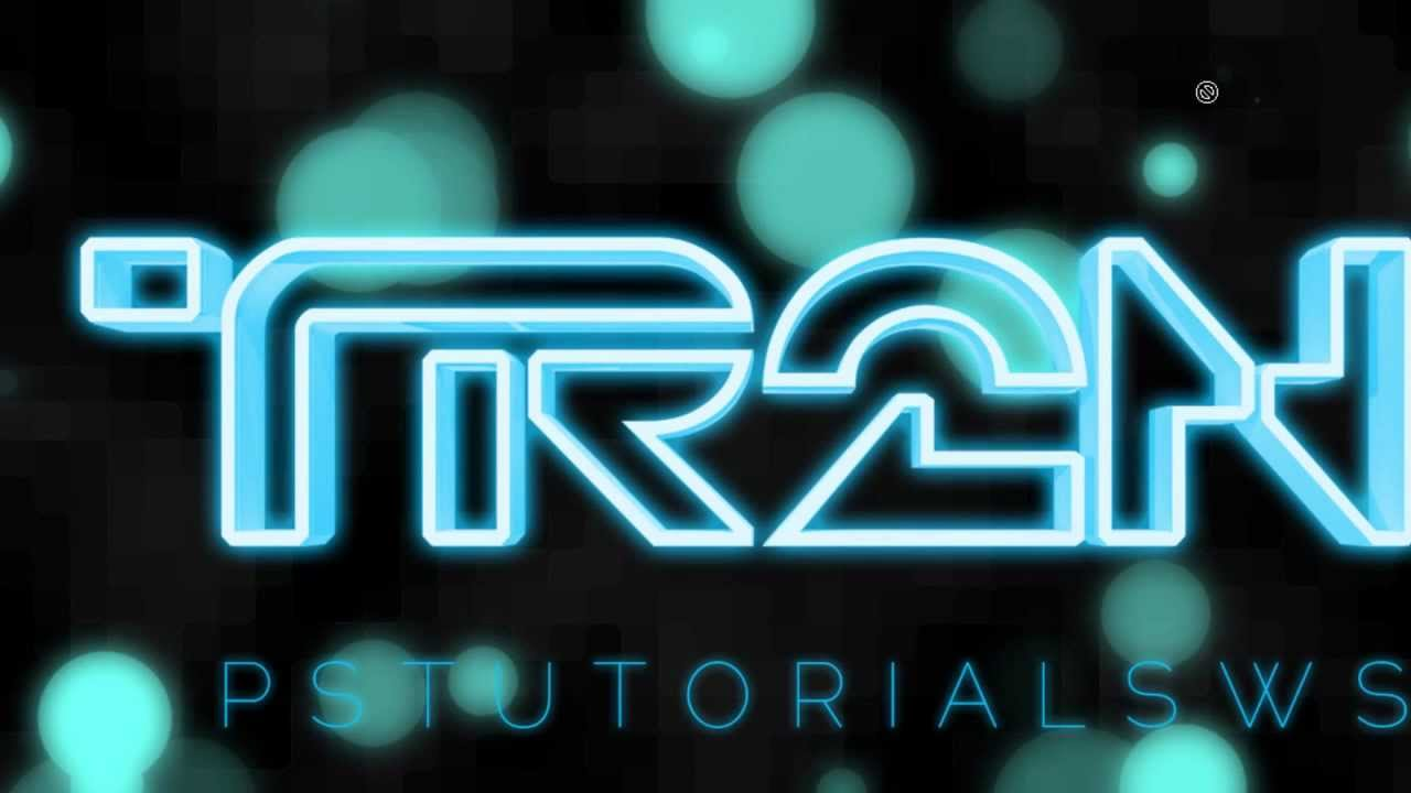 Photoshop tutorial tron inspired 3d text youtube baditri Image collections