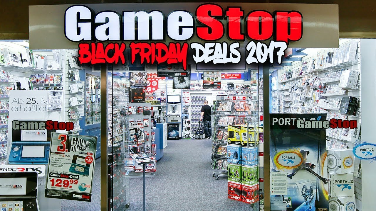 Gamestop Black Friday 2017 Deals On Video Games Youtube