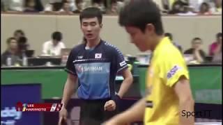 Lee Sangsu vs Tomokazu Harimoto [ Japan Open 2018 ] Semi-Final