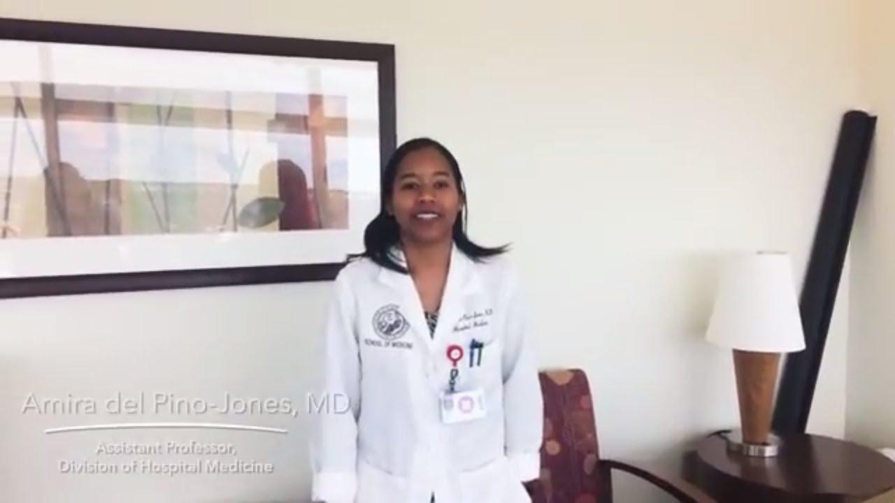 Dedicated to her calling | Dr  Amira del Pino-Jones | UCHealth