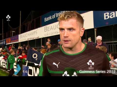 Irish Rugby TV: Jamie Heaslip Open Session Interview