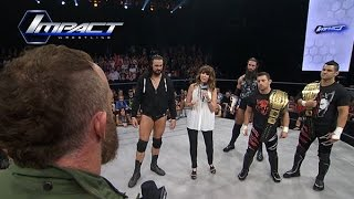 Dixie Carter Calls Out Eric Young For Going Against TNA (Sep. 23, 2015)