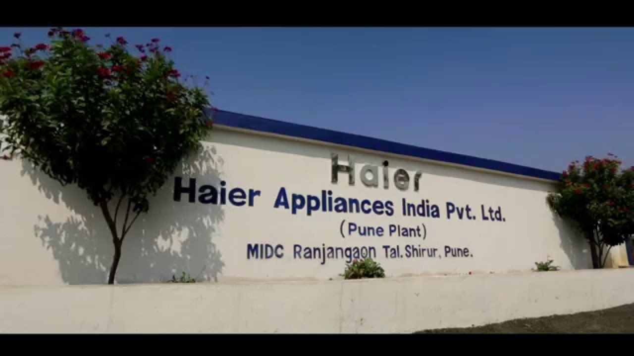 Haier's Refrigerators manufacturing unit at Pune, India