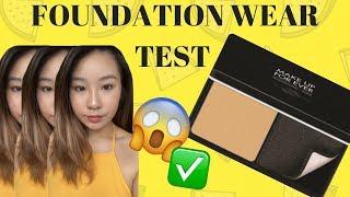 NEW MAKEUP FOREVER VELVET SKIN COMPACT - FOUNDATION WEAR TEST !!!