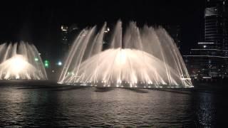 Самые шикарные фонтаны мира в Дубае танцуют под песню великой Аллы Пугачевы.