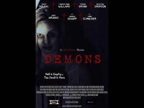 DEMONS Trailer (2017) Miles Doleac Andrew Divoff, Steven Brand Horror movie HD