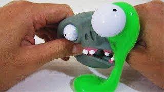 Cool zombie slijm! Slime uit een zombie! (Halloween slime)