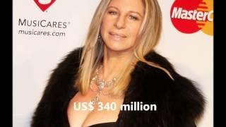 Barbra Streisand Net Worth/Fortuna de Barbra Streisand