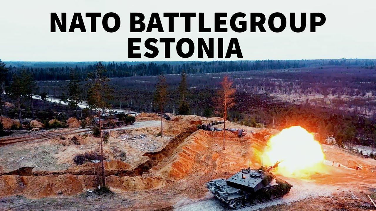 NATO's enhanced Forward Presence Battlegroup Estonia🇪🇪 continues to exercise