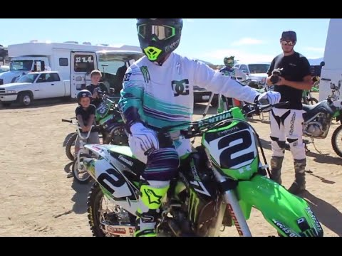 The King Goes Green | Jeremy McGrath Rejoins Kawasaki | TransWorld Motocross