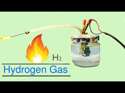 || Hydrogen Gas || How To Make Hydrogen Gas Generator At Home | DIY