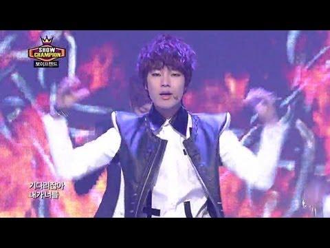 BoyFriend - I Yah, 보이프렌드 - 아이야, Show champion 20130206