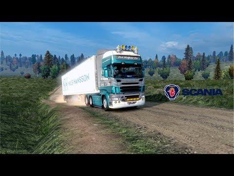 ETS2 1.28 - Rusmap 1.7.4 - Scania R - Valday to Velildye Luki