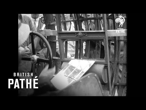 The Dynasphere! Psychotic 1930s Vehicle!