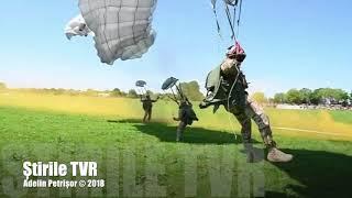 Militarii români au participat în premieră la un exercițiu în Franța, demonstrație care a marcat 74 de ani de la debarcarea aliată din Normandia. Aceasta este știrea din Telejurnalul TVR.