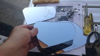 How to fix a broken Spyder mirror cheap!