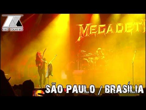 First time in Brazil with Megadeth (São Paulo/Brasília)
