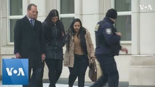 'El Chapo' Wife and Attorney Leave Courthouse After Guilty Verdict