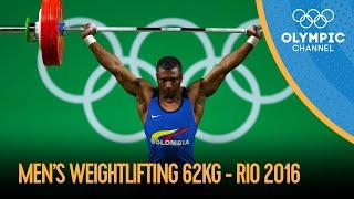 Weightlifting - Men's 62kg   Rio 2016 Replays