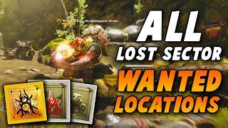 All Week 1 Lost Sector