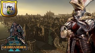 S EGE OF MAR ENBURG LAST ALL ANCE OF ELVES AND MEN   SFO Grimhammer   Total War Warhammer 2