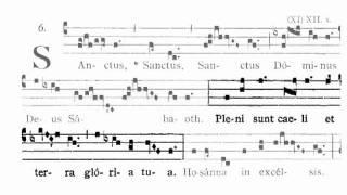 missa VIII de angelis   Sanctus