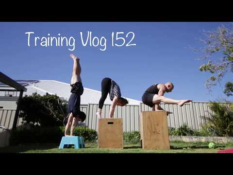 Handstand and Bodyweight Strength Training VLog 152