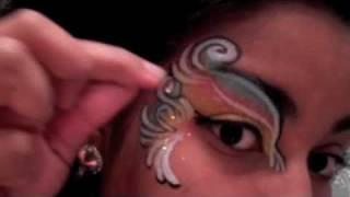 Quick 5 Minute: Rainbow Eye Design! Thumbnail
