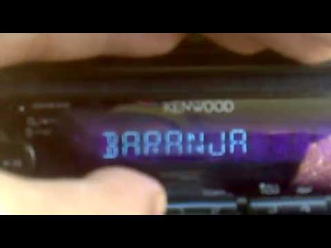 Batina Croatia FM scan Kenwood cd player