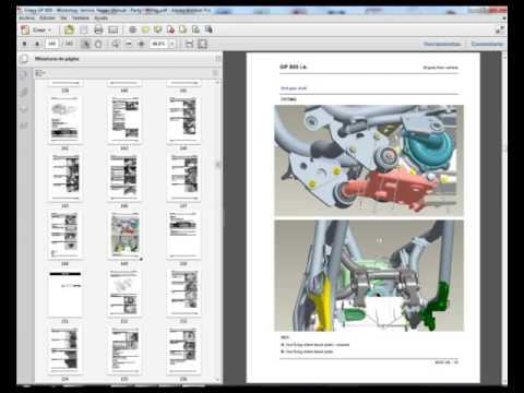 gilera gp 800 gp800 workshop service repair manual parts rh youtube com WaveRunner GP800 Yamaha GP800