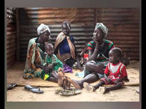 Plight of displaced people in South Sudan