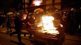 Suspected masterminds behind Hong Kong violent protests