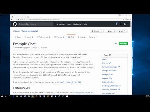 Websocket gateway :: Lucee Documentation