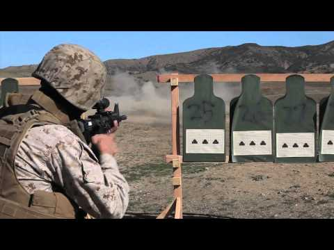 I MEF Marines COMBAT RIFLE MARKSMANSHIP - Tables 3 & 4