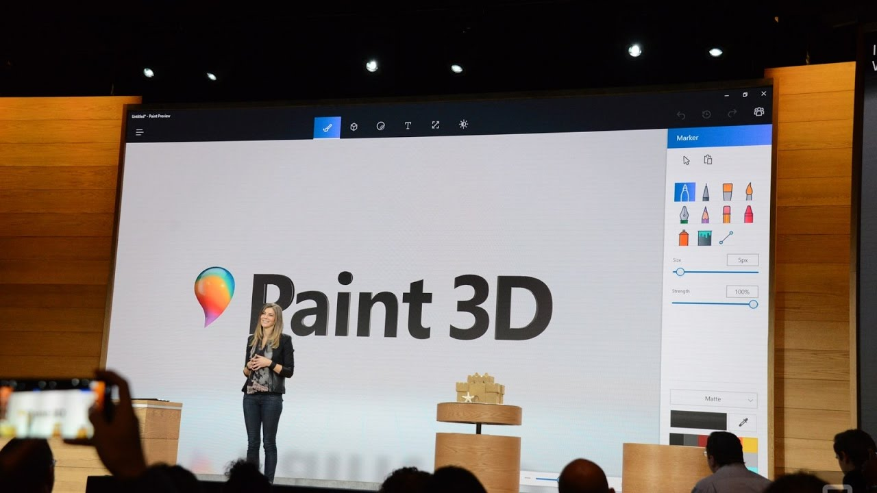 How to crop or re-size photo in Paint 3D Preview - Windows 10