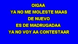 Karaoke Numero equivocado - Saul El Jaguar Alarcon