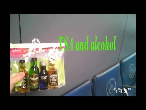 GETTING ALCOHOL THROUGH TSA SCREENING