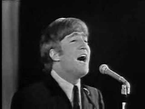 """John Lennon:""""...just rattle your jewelry"""" + Twist and shout"""