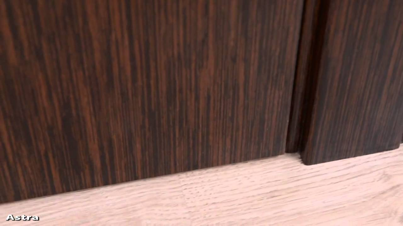 astra modern interior doors in a wenge finish  youtube - astra modern interior doors in a wenge finish