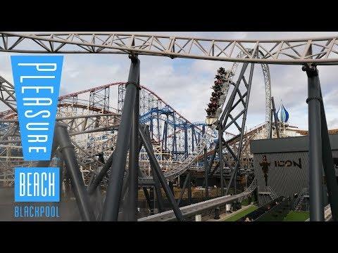 Blackpool Pleasure Beach Vlog February 2019
